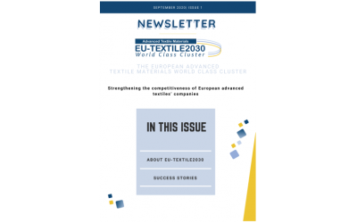 EU-TEXTILE2030 issues its first newsletter