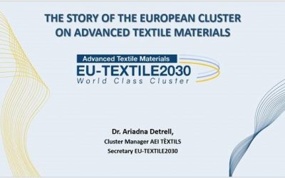 EU-TEXTILE2030 was invited by FASCINATE project to present its experience